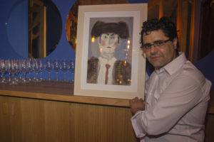 Antonio Fernández en EBOKA Restaurante Málaga