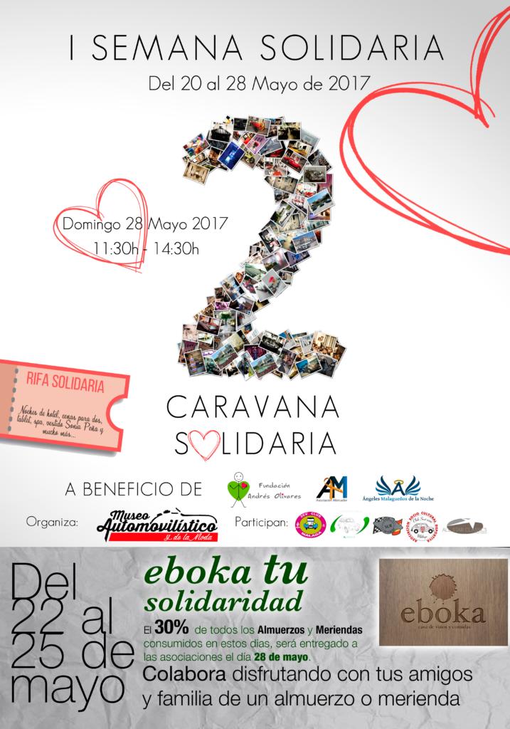 EBOKA tu solidaridad.Almuerzos y Meriendas Eboka desde el lunes 22 al jueves 25 de mayo