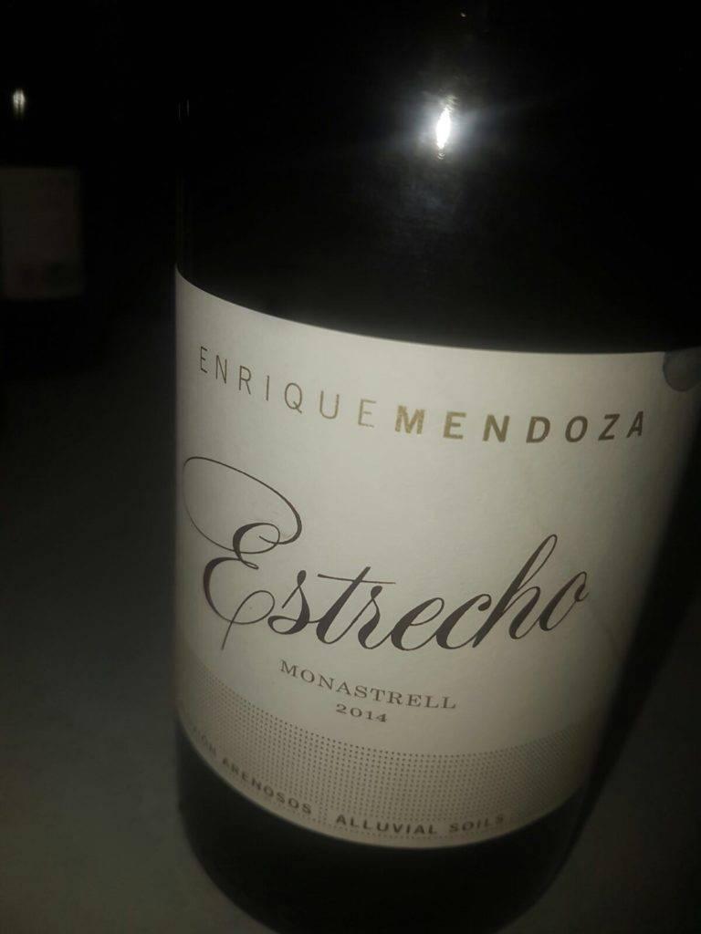 Estrecho. Enrique Mendoza