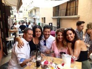 Grupo de amigos de la Hermandad Gastronómica EBOKA