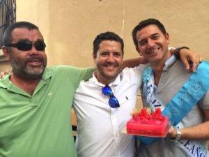 El cumpleaños de uno de los miembros más veterano de este fantástico grupo gastronómico fue otro motivo más de celebración