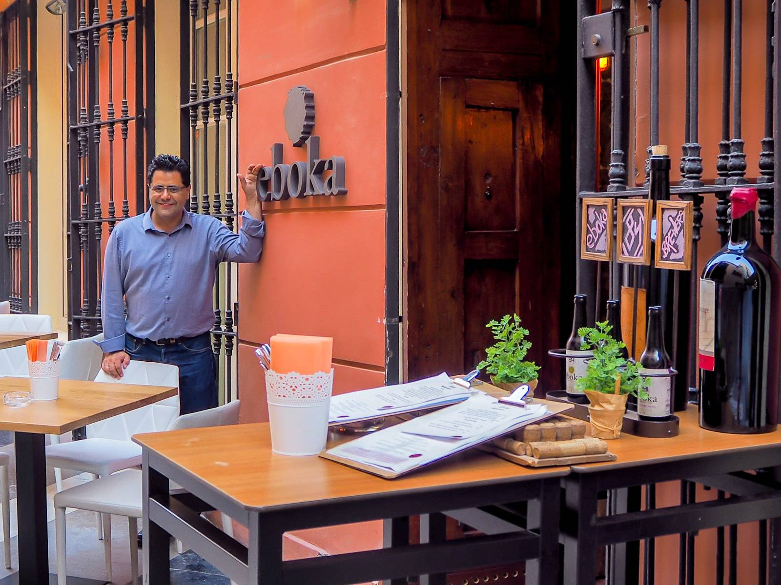 Oferta de empleo para camarero en Eboka restaurante del centro de Málaga