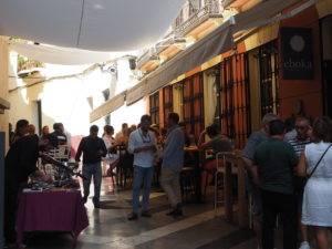 Fantástico el ambiente en nuestra terraza durante la feria de Málaga