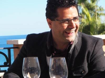 Antonio FernándezdeEbokaRestaurante enel Salón del Vino de Narbona