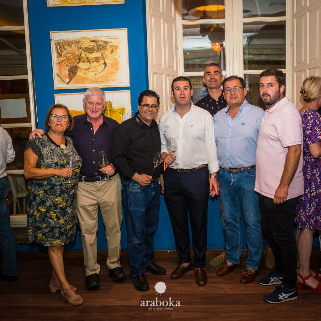 Familia Picking Malaga en araboka restaurante