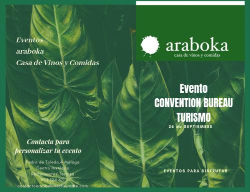 Araboka restaurante en los eventos de incentivos de empresas y turismo de Málaga
