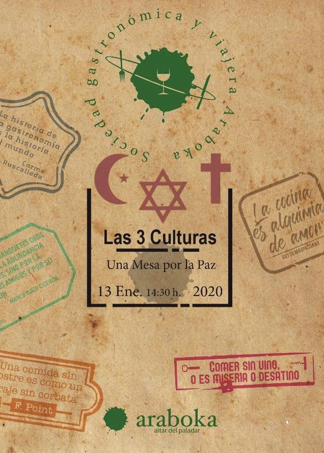 Viaje por la Paz en Enero de 2020 con la Sociedad Gastronomica Araboka