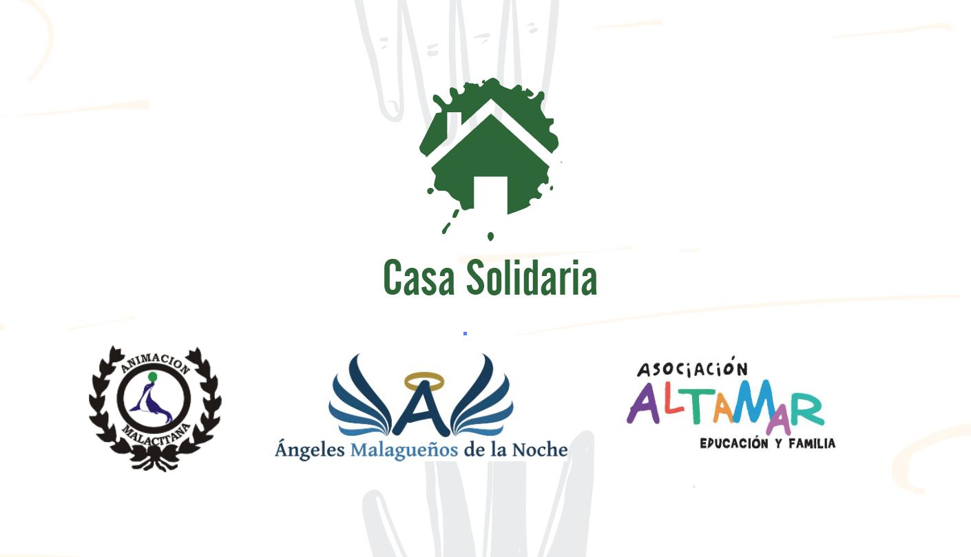 Recogida solidaria de alimentos y donaciones para familias de Malaga