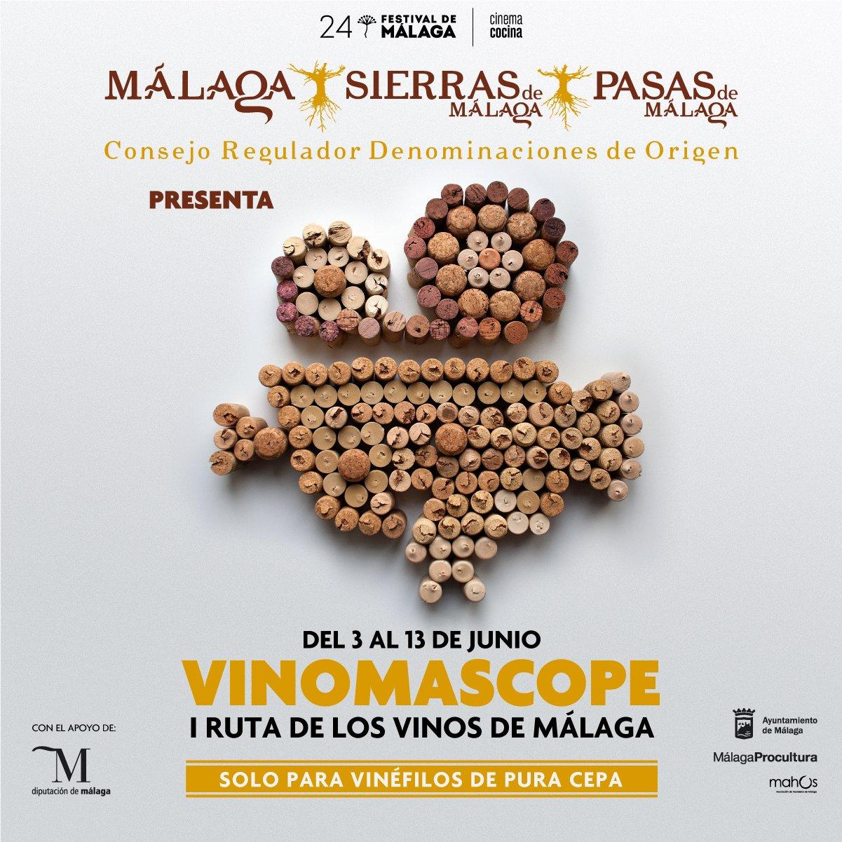 Tu primera parada de Cine en la Ruta Vinomascope I Ruta de los Vinos de Málaga